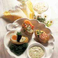 Kartoffelgerichte: Pellkartoffeln mit Gourmet-Dip