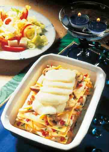 Lasagne mit Pilzen Foto: Wirths PR
