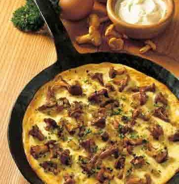 Pfifferling-Omelette Foto: Wirths PR
