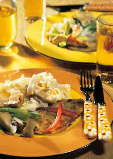 Pilzgerichte: Cremiges Jägerlatein mit Steinpilzen Foto: Wirths PR