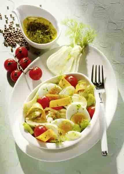Vitamin C:Gemischter Salat mit Fenchel © Wirths PR