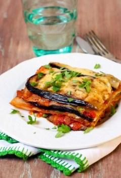 Gesunde Lasagne mit Zucchini fast ohne Kohlenhydrate