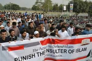 Dukungan Aksi Damai dari Pakistan