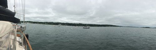 Visiting My Parents: A day on the Boat, panorama