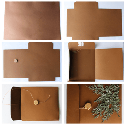DIY gift envelopes