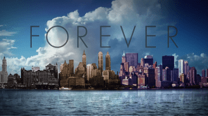 Title card for Forever.