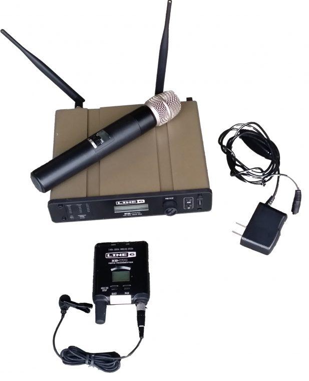 Line 6 digital mic (handheld or lapel)
