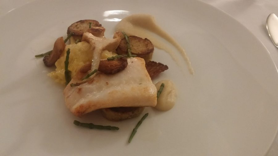 Pan-fried Turbot