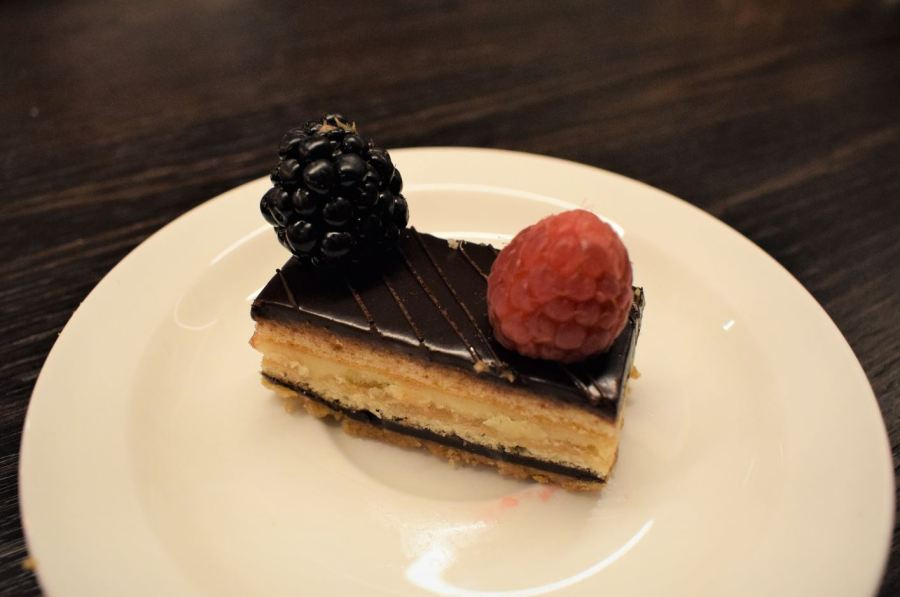 chocolate coffee pastry