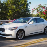Riding In Luxury With Kia's K900