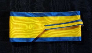 #AU036 - Royal Order of the Iron Crown - Ribbon for Commander type 2