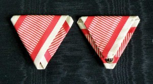 #AU050 - Austrian War ribbon type 1.