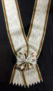 #TR001 – Turkey, Order of Nishani-Shefkat (Charity or Chastity) – Grand Cross sash, Turkish style