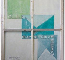 Lettres de toute une vie, Kati Riikonen, 2012, Mixed Technique on Paper, 99 x 82 cm
