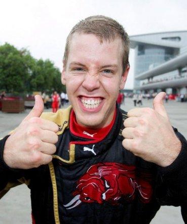 Sebastian Vettel Scuderia Torro Rosso Pole Position at Monza 2008