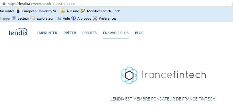Lendix investment crowdlending 13 france fintech crowdfunding