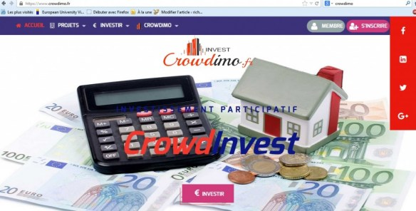 crowdimo test and notice real estate investment new platform