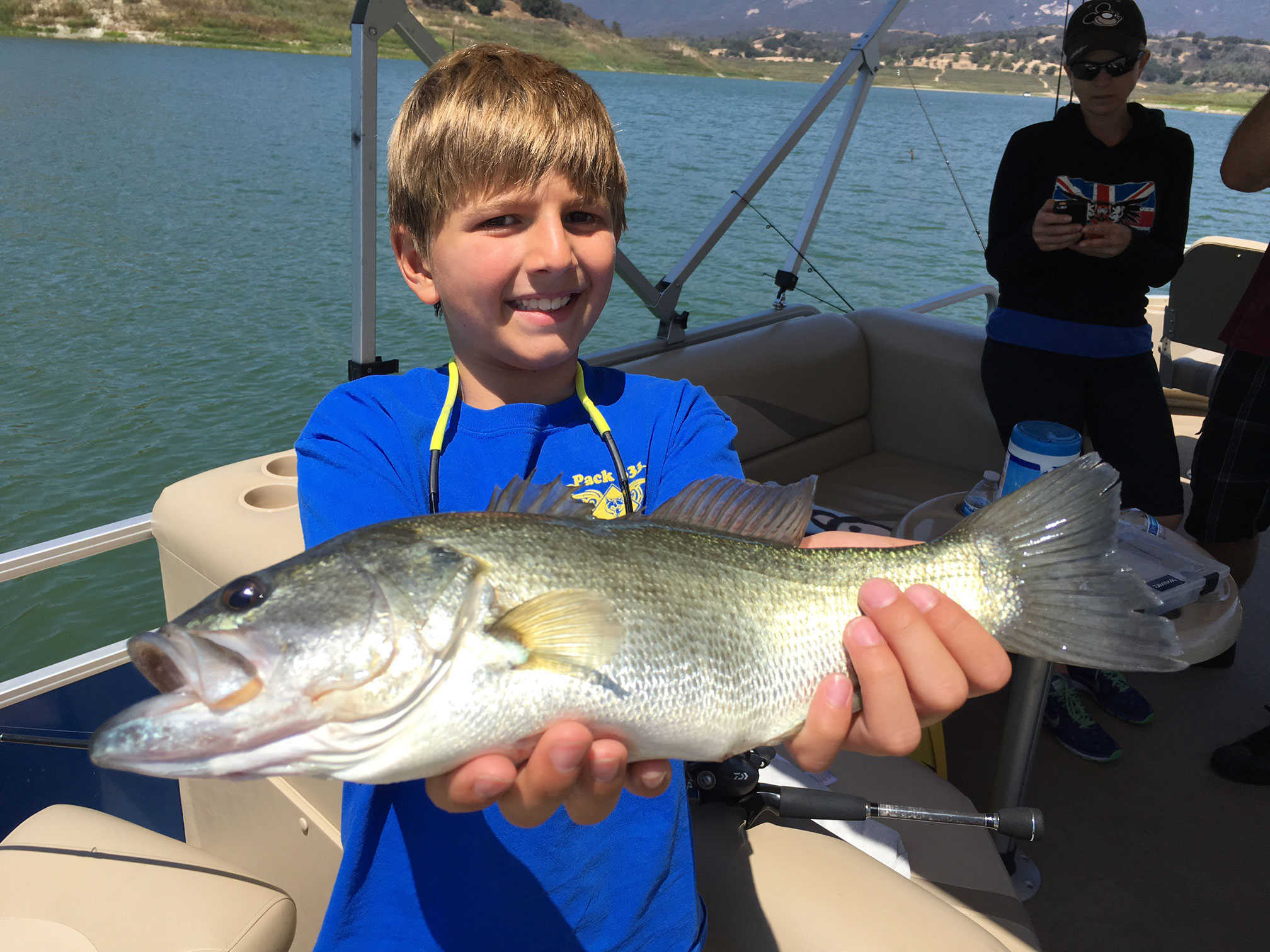 Gallery rich tauber fishing southern california bass for Southern california fishing report