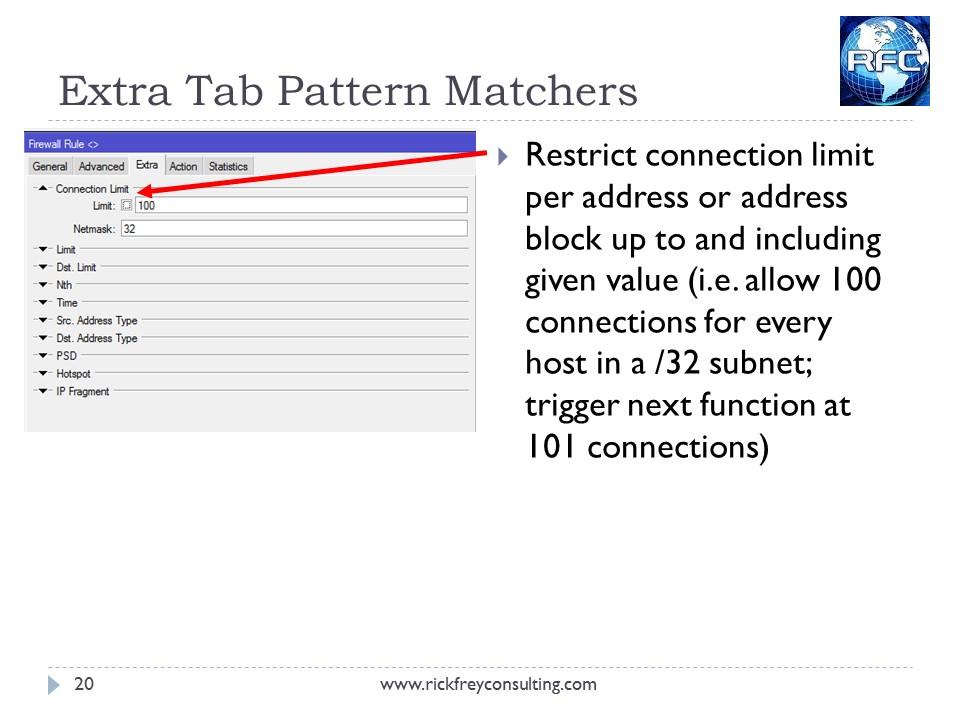 MikroTik Firewall Slide20