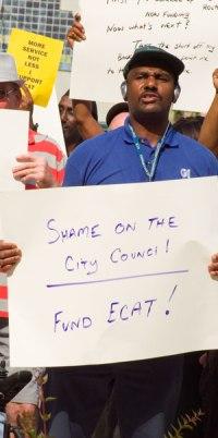 ECAT Protest