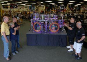 Jim Nan Steve Brett Wayde Drums tb