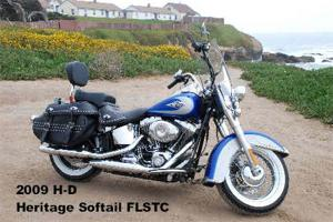 2009 Harley Davidson Heritage Softail Classic Review