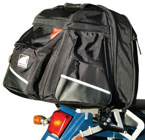 Ventura Aerodynamic Bike Pack Motorcycle Luggage System