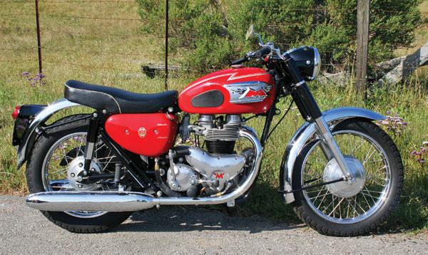 Rider Magazine Retrospective Matchless G15 45 750cc Amc