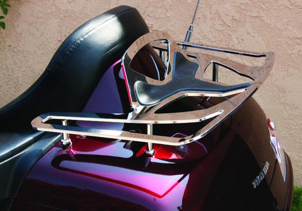 big bike parts motorcycle luggage rack  ultragard touring bag review rider magazine