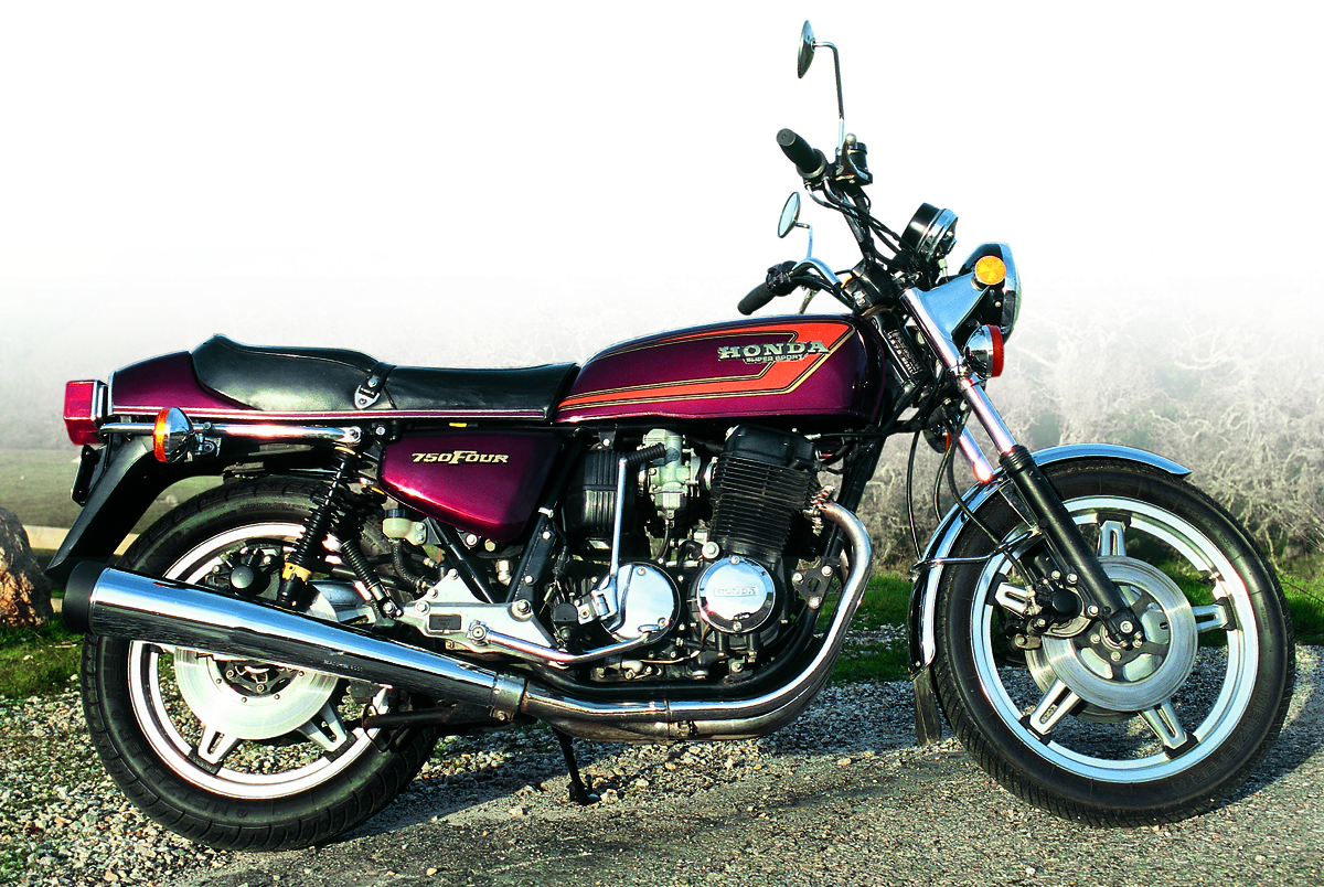 honda cb750f super sport sohc 1975 1978 rider