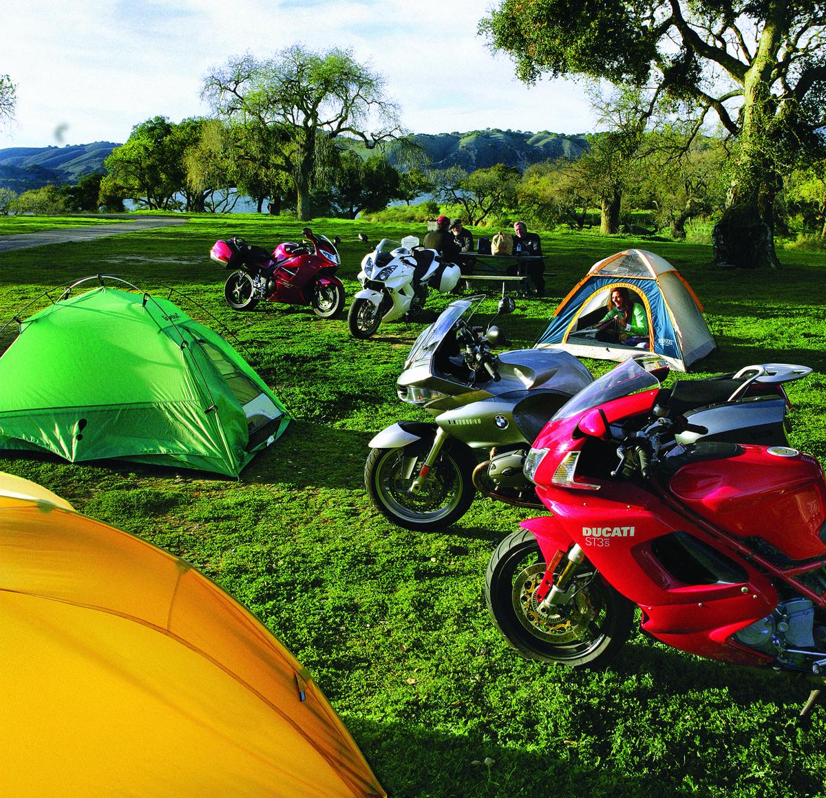 Motorcycle Camping 101 | Rider Magazine | Rider Magazine