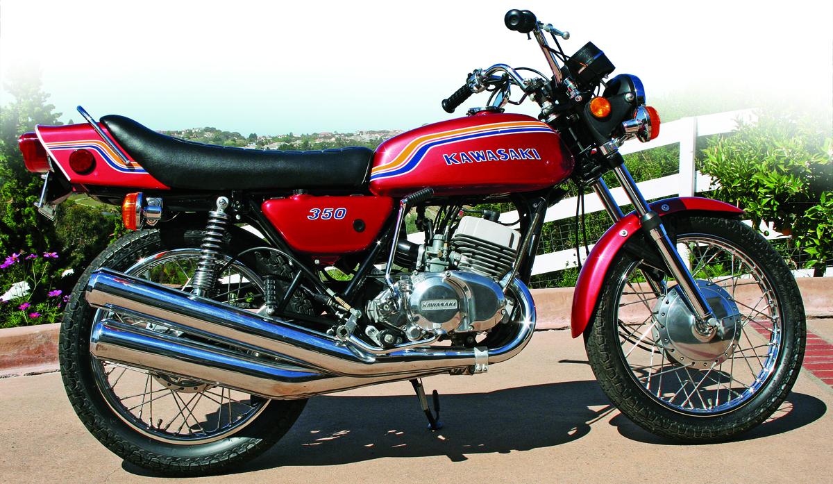 Kawasaki 350 S2 Mach Ii Triple 1972 1973 Rider Magazine