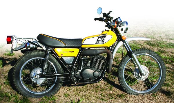 Retrospective yamaha dt400 enduro 1975 1979 rider for Yamaha 400cc motorcycle