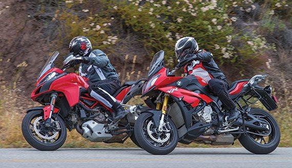Rider Comparo: 2016 BMW S 1000 XR vs 2015 Ducati ...