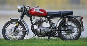 Year/Model: 1964 Ducati Monza Junior 160; Owner: Fritz Buehner, Lubec, Maine.