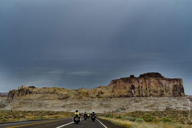 Summer thunderstorms threaten in the Utah desert. (Photo: Christina Shook)