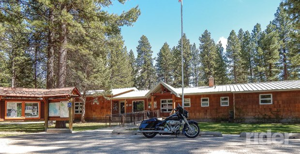 No visit to Lincoln is complete without a stop at the Forest Service office.