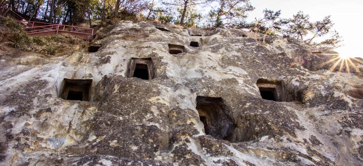The Hundred Caves of Yoshimi Saitama