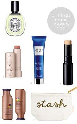 5 Things In My Beauty Bag   02