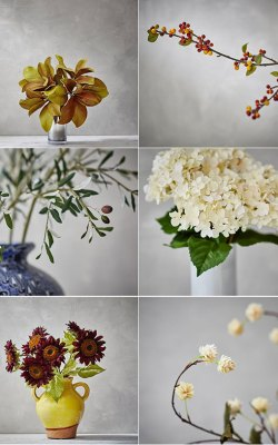 Decorating with Faux Foliage