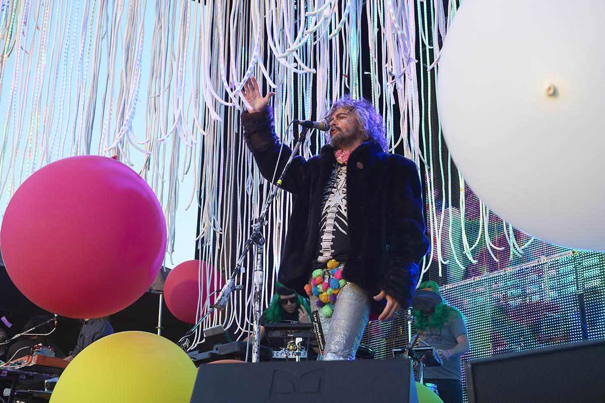 The Flaming Lips at Rock The Garden in Minneapolis