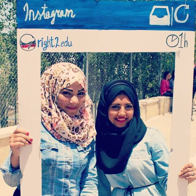 Thanks to all the amazing Birzeit University students who camehellip