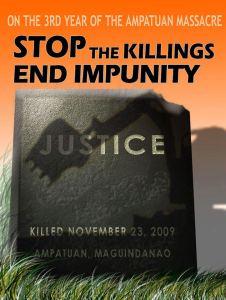 ampatuan massacre third anniversary