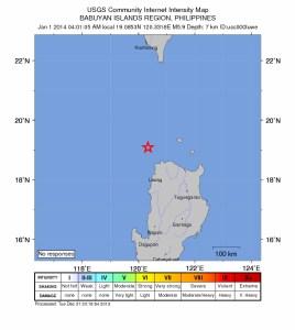 intensity 5.9 earthquake