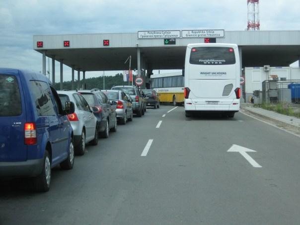 Grænsekontrol Beograd