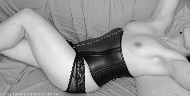 Rikochanpornstar black and white erotica, Irving Klaw style!
