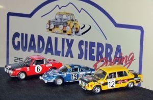 Exposición de miniaturas en la sede de la Escudería Guadalix Sierra Rácing