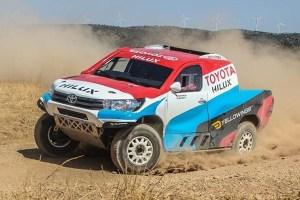 Nani Roma debuta con Toyota en la Baja Aragón