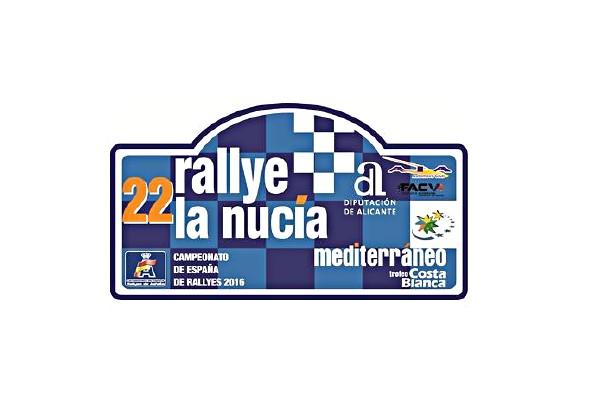 placa rallye La Nucia