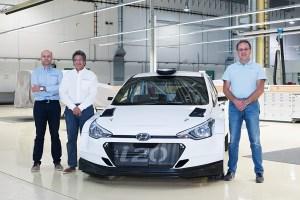 Hyundai entrega el primer i20 R5 versión cliente